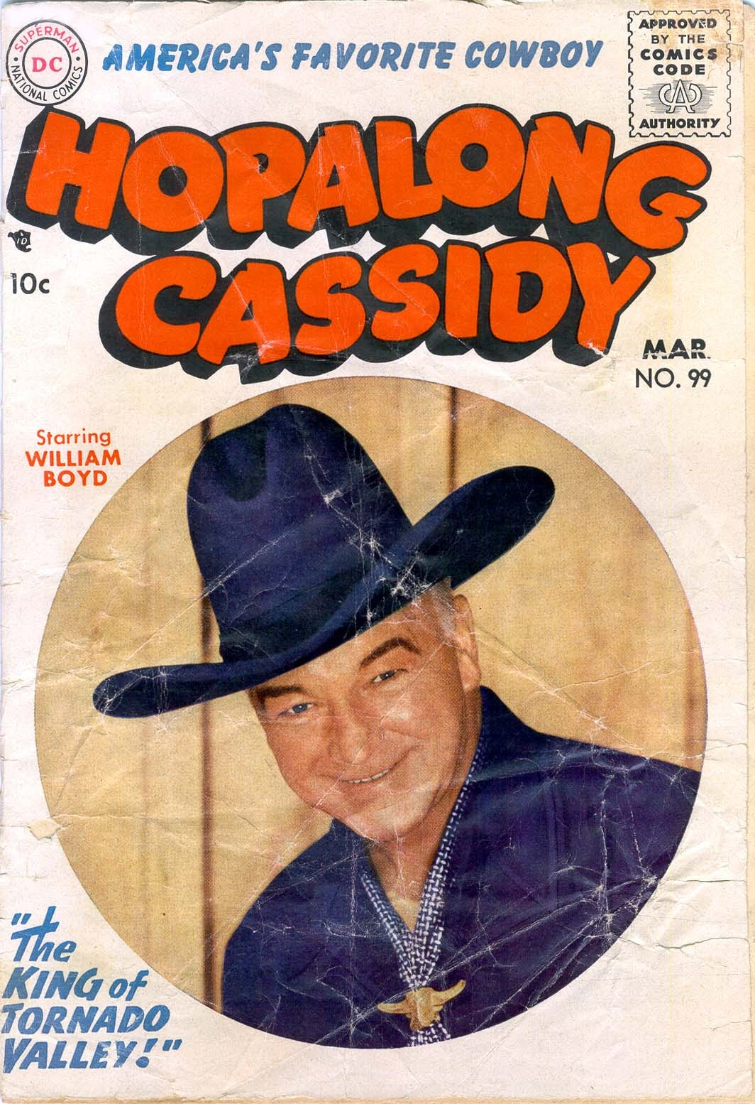 Hopalong Cassidy issue 99 - Page 1