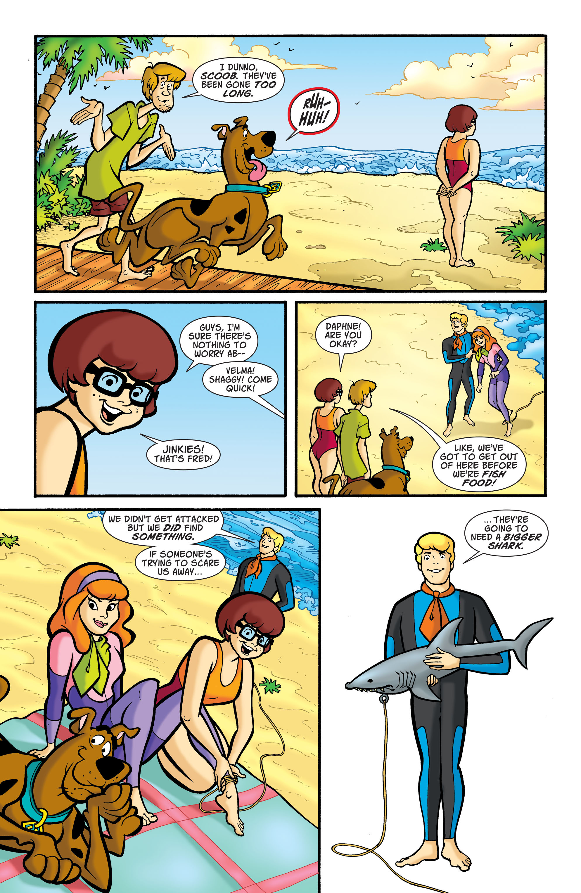 Read online Scooby-Doo: Where Are You? comic -  Issue #77 - 8