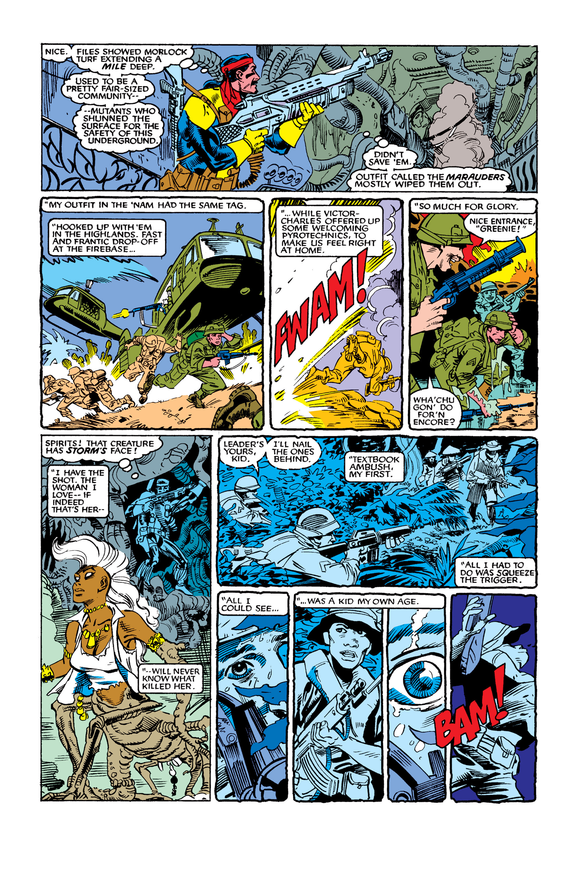 Read online Uncanny X-Men (1963) comic -  Issue #262 - 14