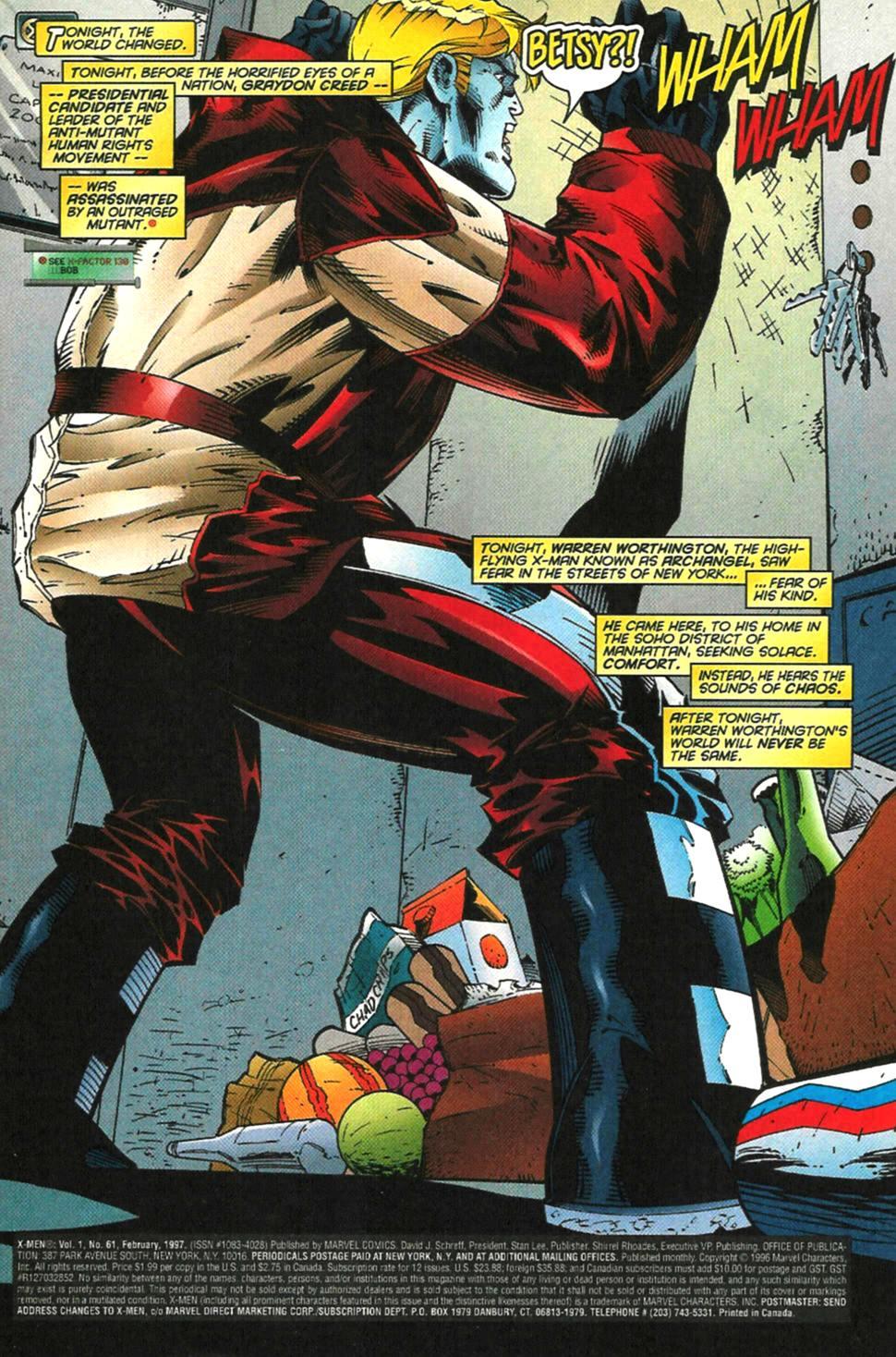 X-Men (1991) 61 Page 1
