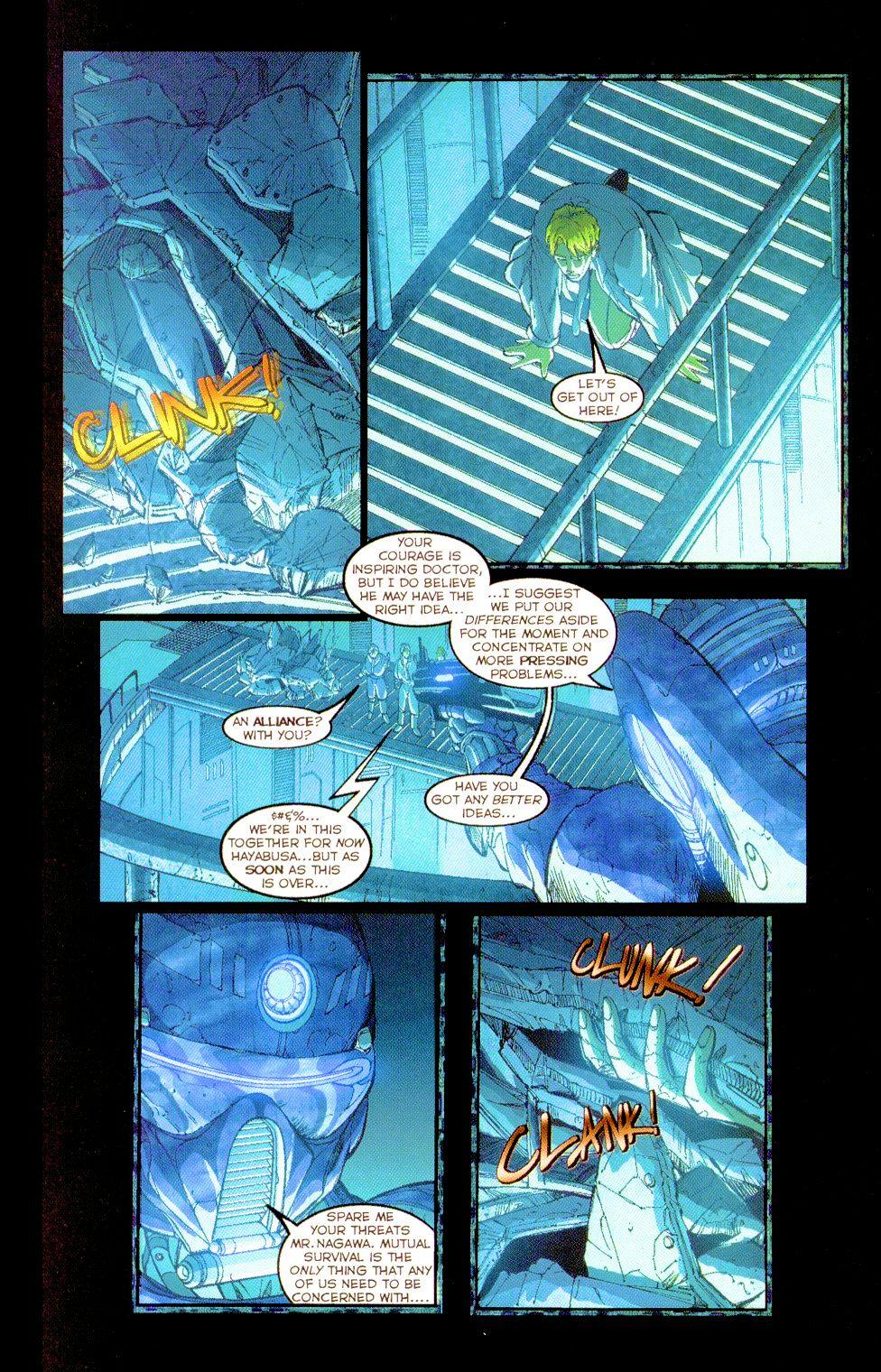 Darkminds (1998) Issue #8 #9 - English 16