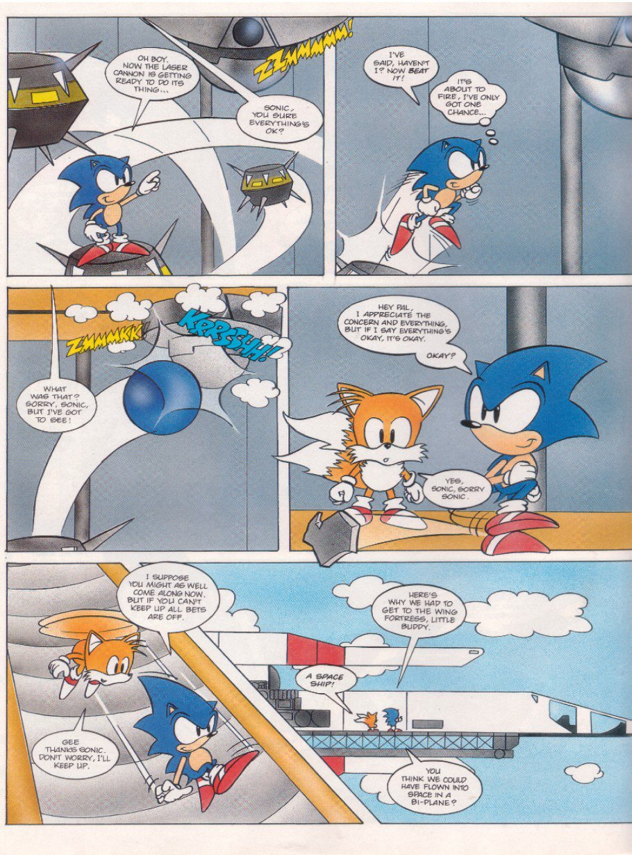 Read online Sonic the Comic comic -  Issue #6 - 6