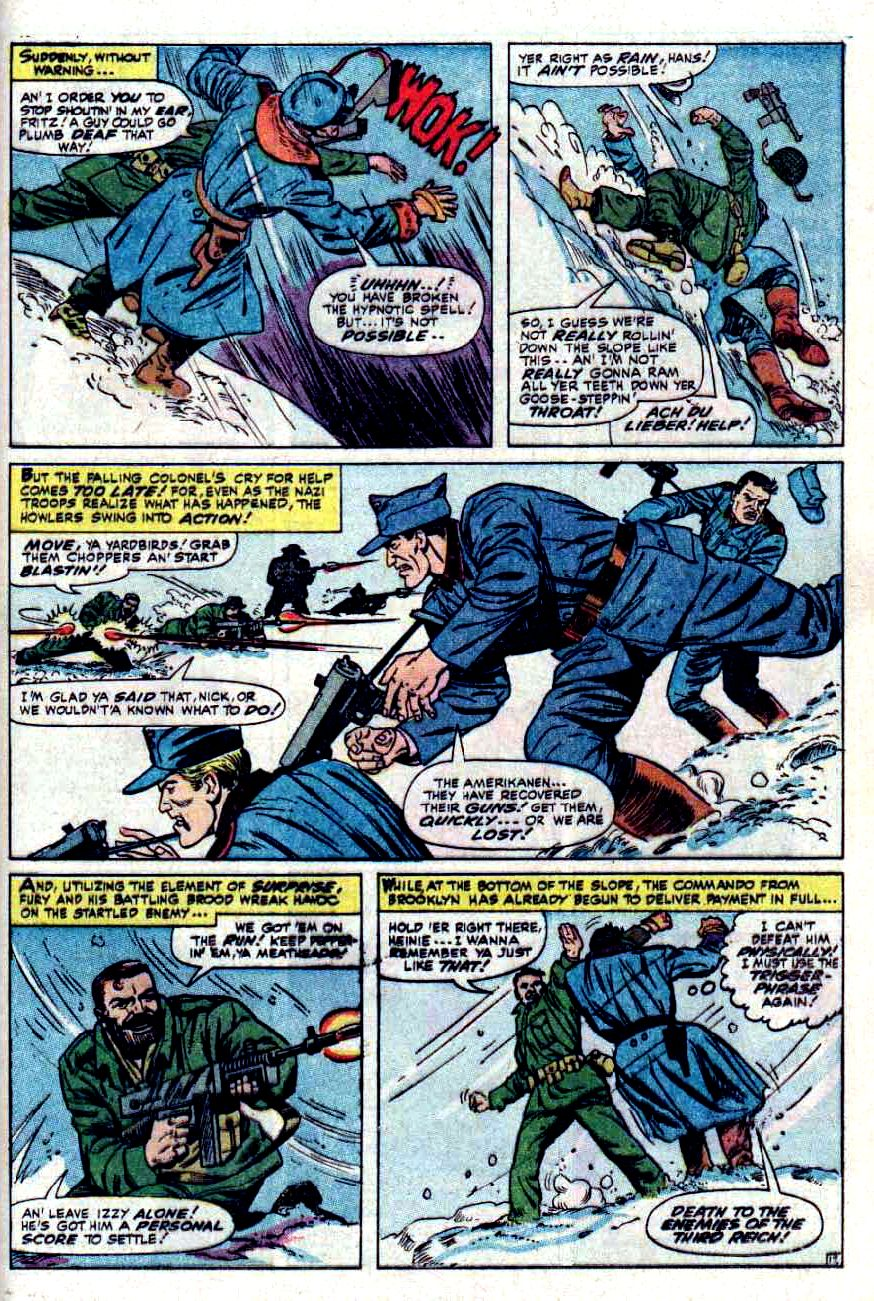Read online Sgt. Fury comic -  Issue #32 - 25