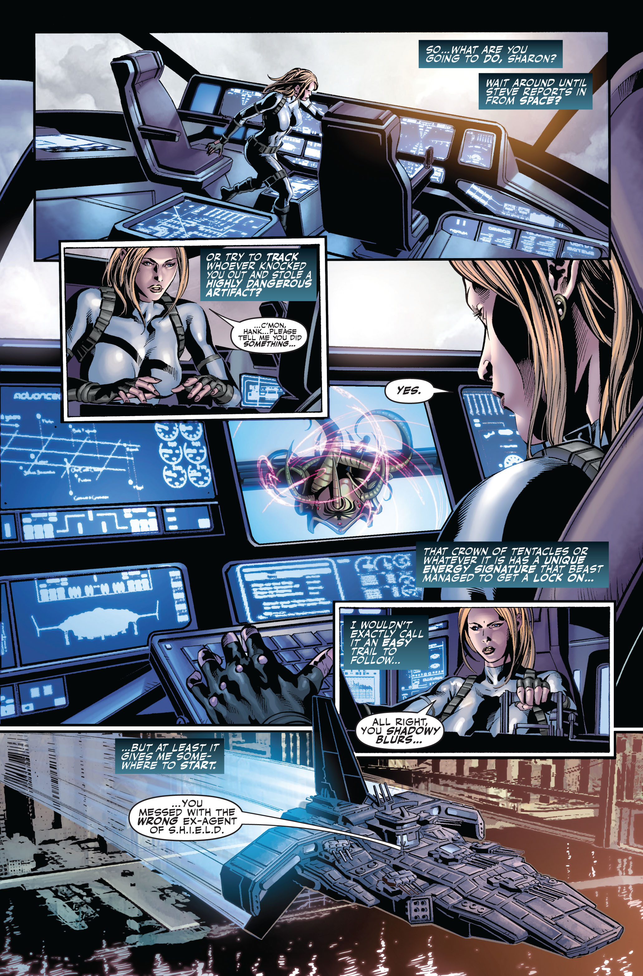 Read online Secret Avengers (2010) comic -  Issue #2 - 4