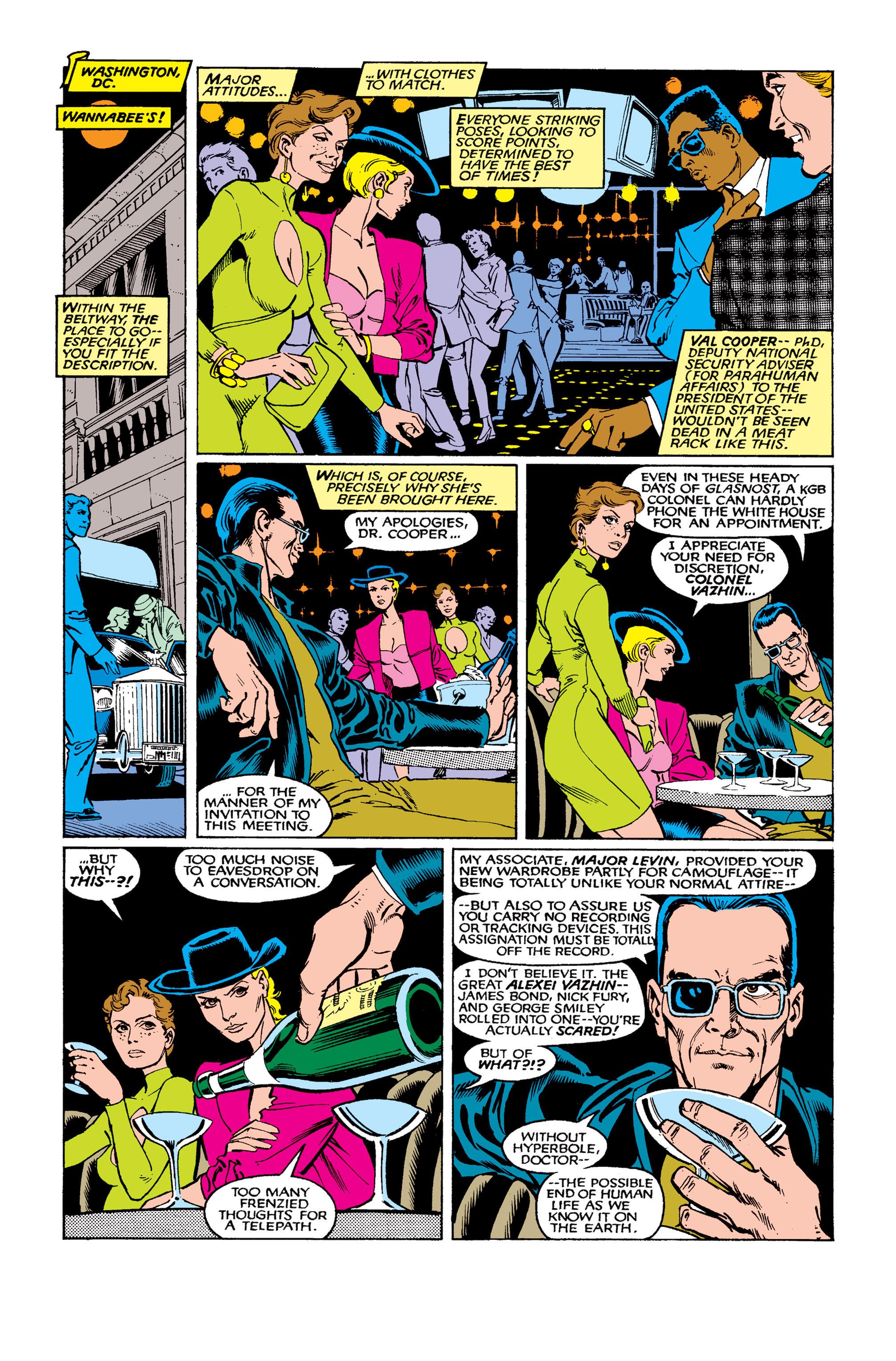 Read online Uncanny X-Men (1963) comic -  Issue #263 - 11