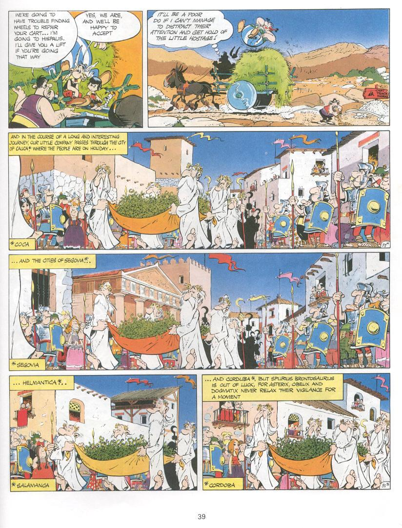 Read online Asterix comic -  Issue #14 - 36