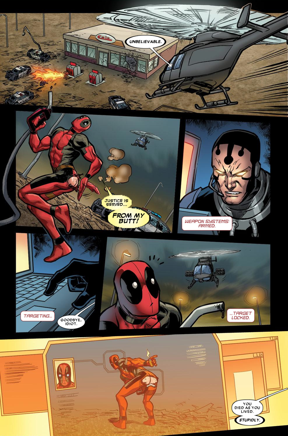 Read online Deadpool (2008) comic -  Issue #60 - 5