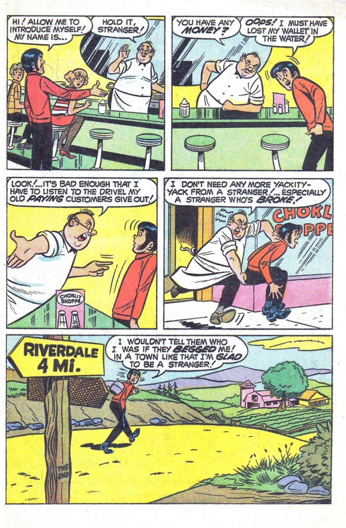 Read online Archie (1960) comic -  Issue #193 - 33