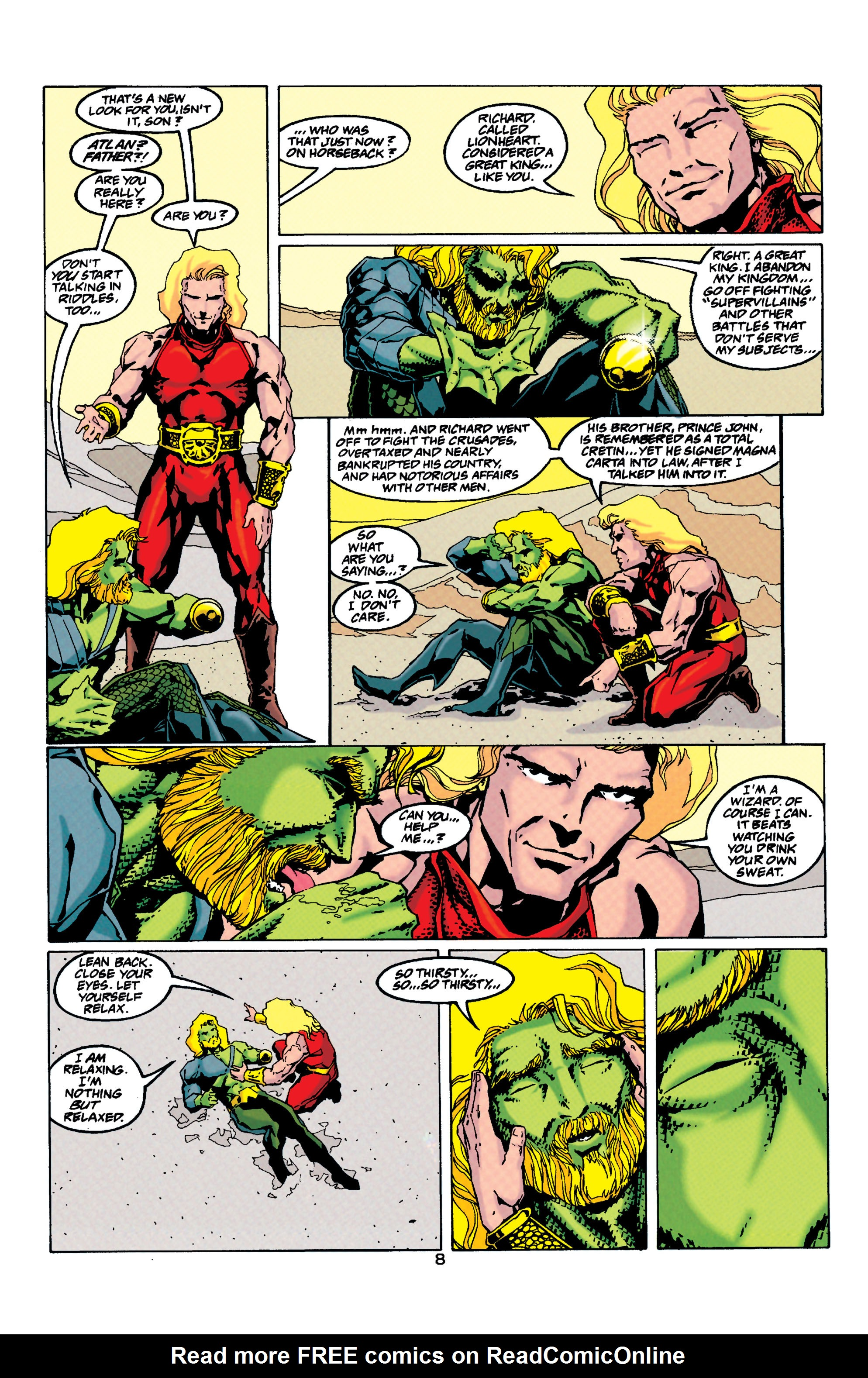 Read online Aquaman (1994) comic -  Issue #33 - 8