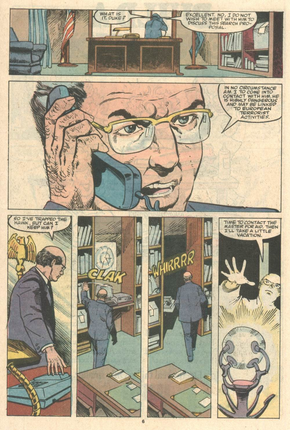 Read online Justice (1986) comic -  Issue #8 - 7