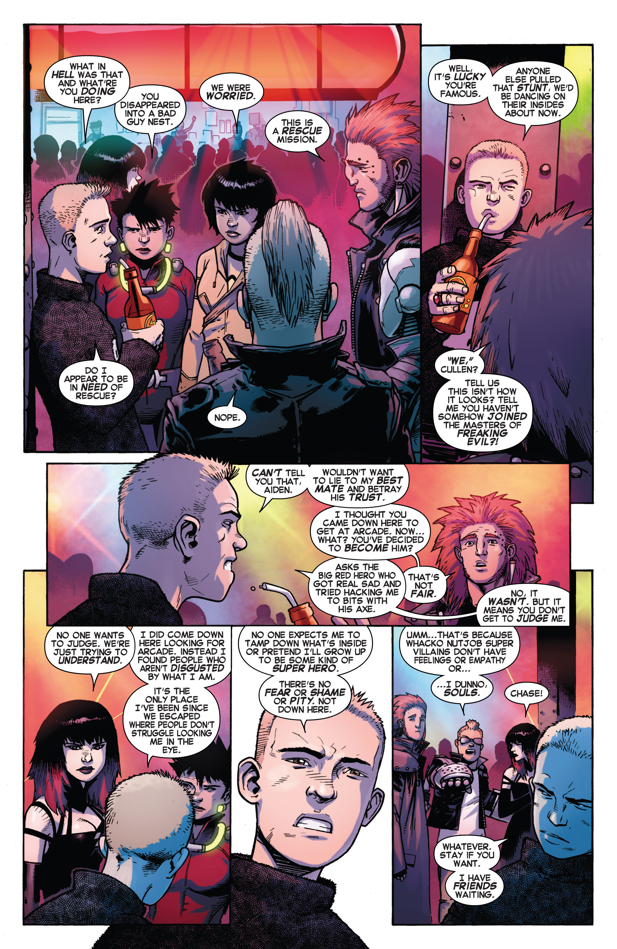 Read online Avengers Undercover comic -  Issue #2 - 10