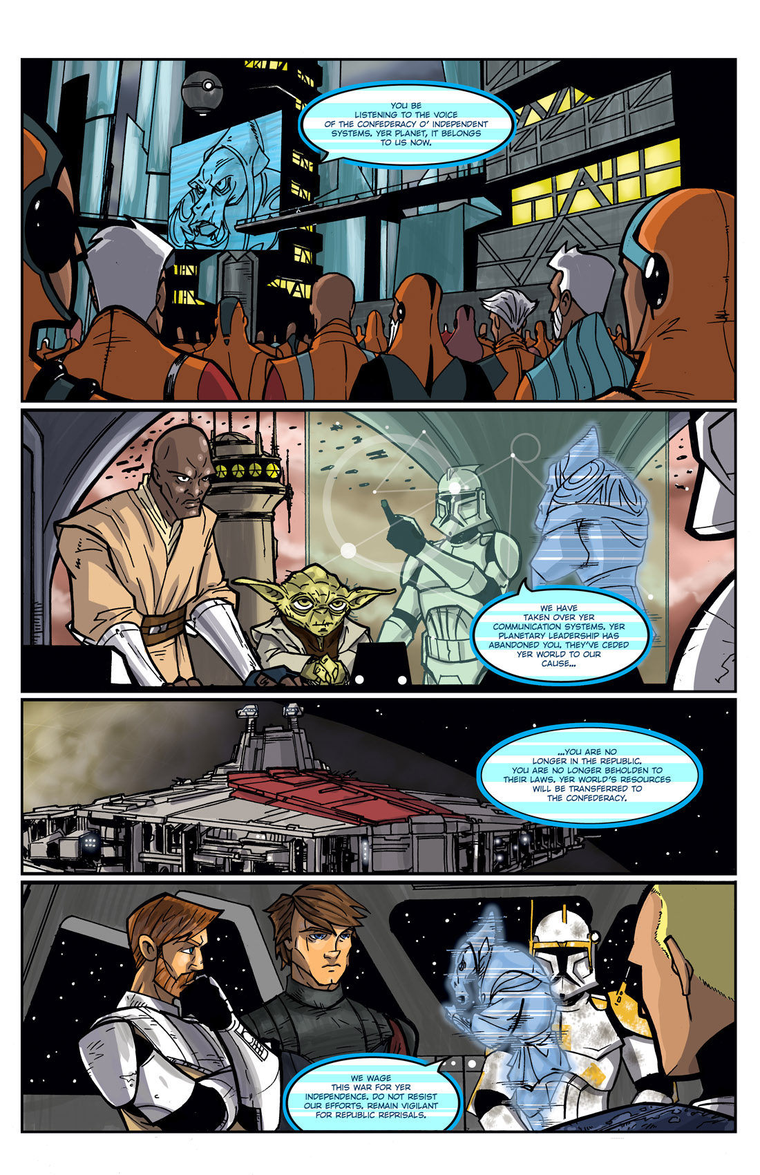 Read online Star Wars: Tales From The Clone Wars comic -  Issue # TPB - 111