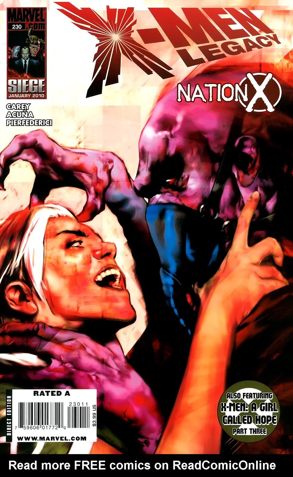 X-Men Legacy (2008) 230 Page 1