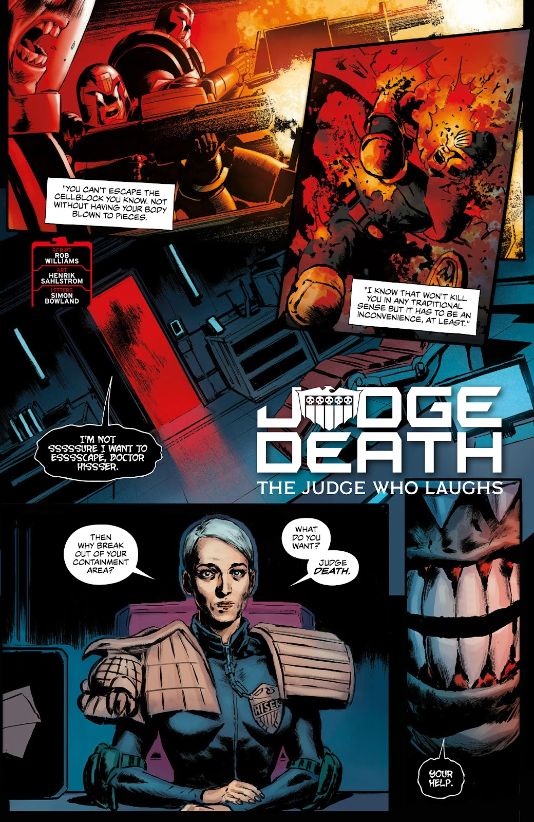 Read online 2000 AD Villains Special comic -  Issue # Full - 4