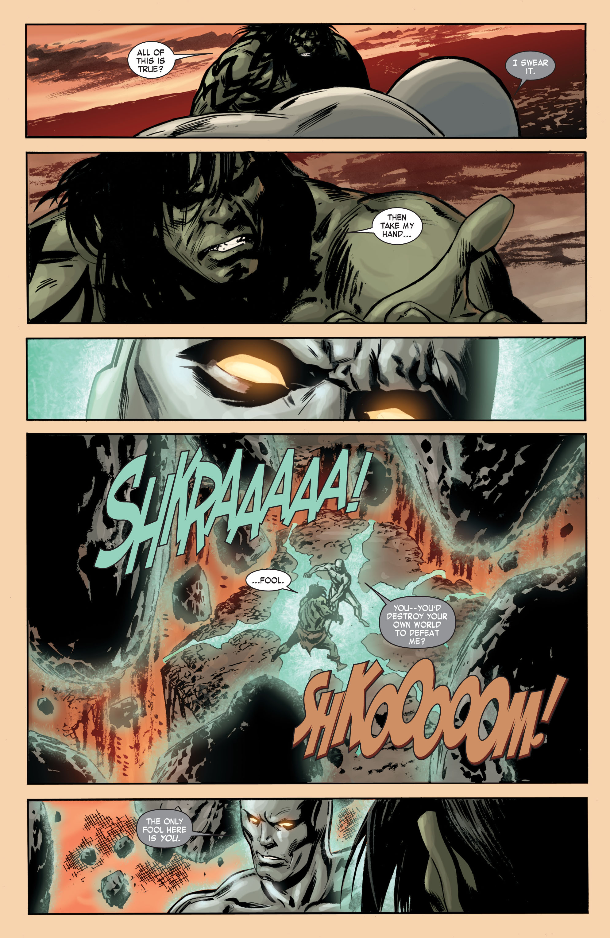 Read online Skaar: Son of Hulk comic -  Issue #7 - 18