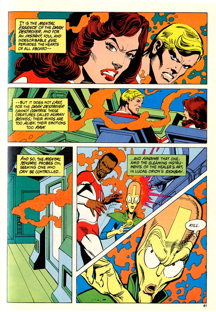 Read online Atari Force (1982) comic -  Issue #5 - 41