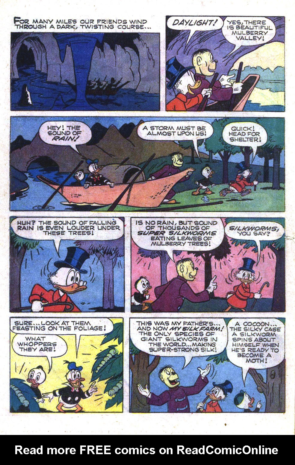 Read online Uncle Scrooge (1953) comic -  Issue #74 - 24