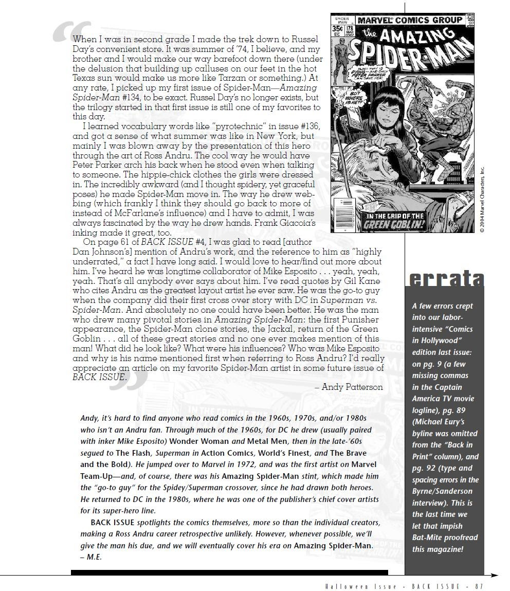 Back Issue issue 6 - Page 88