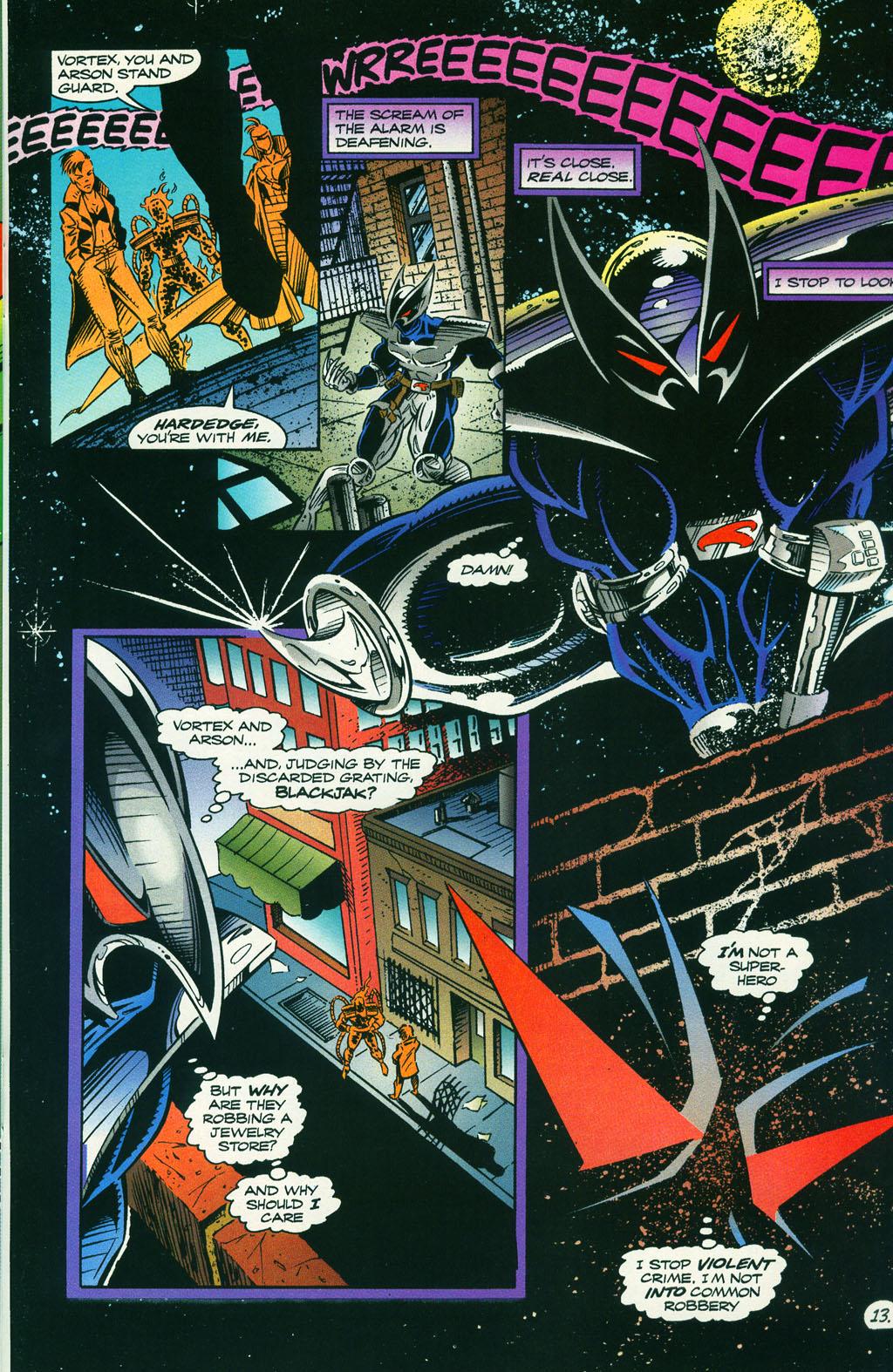 Read online ShadowHawk comic -  Issue #5 - 17