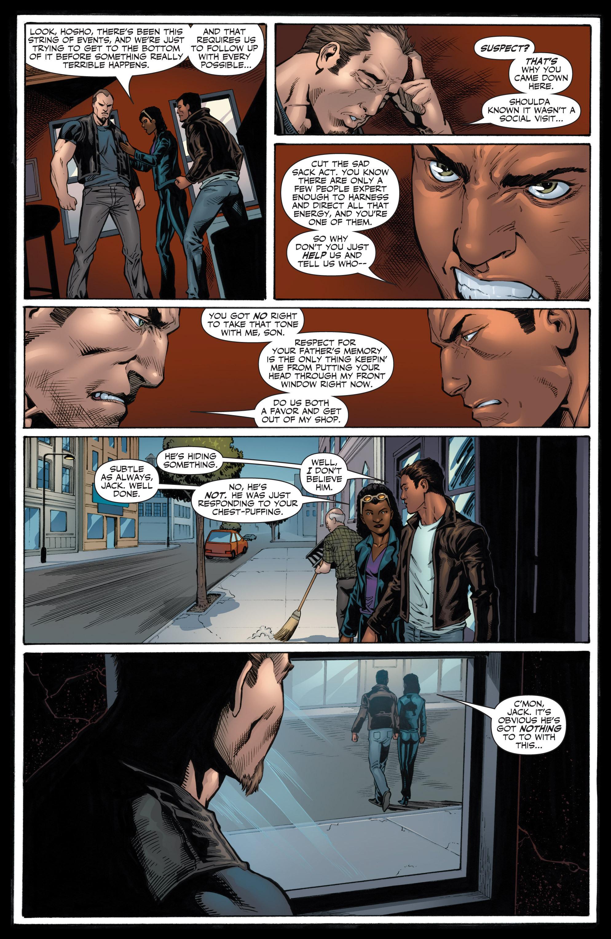 Read online Shadowman (2012) comic -  Issue #12 - 22