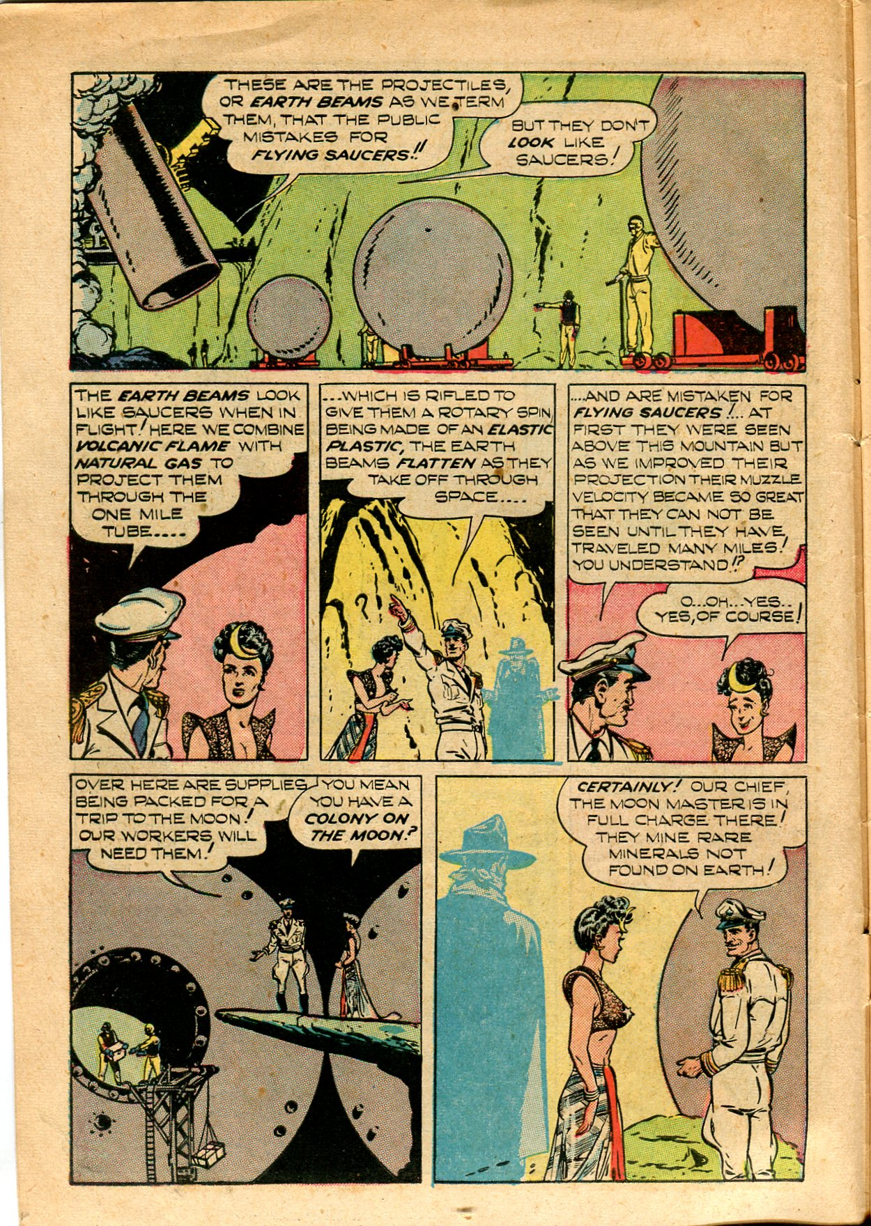 Read online Shadow Comics comic -  Issue #82 - 10