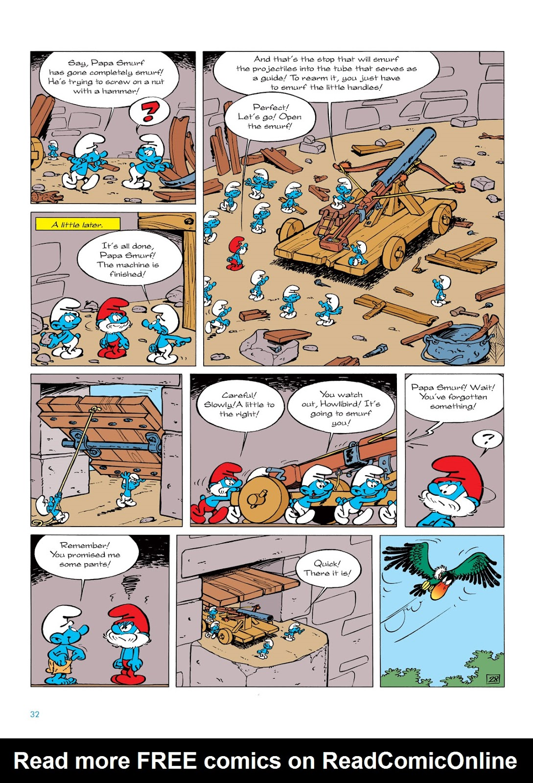 Read online The Smurfs comic -  Issue #6 - 32