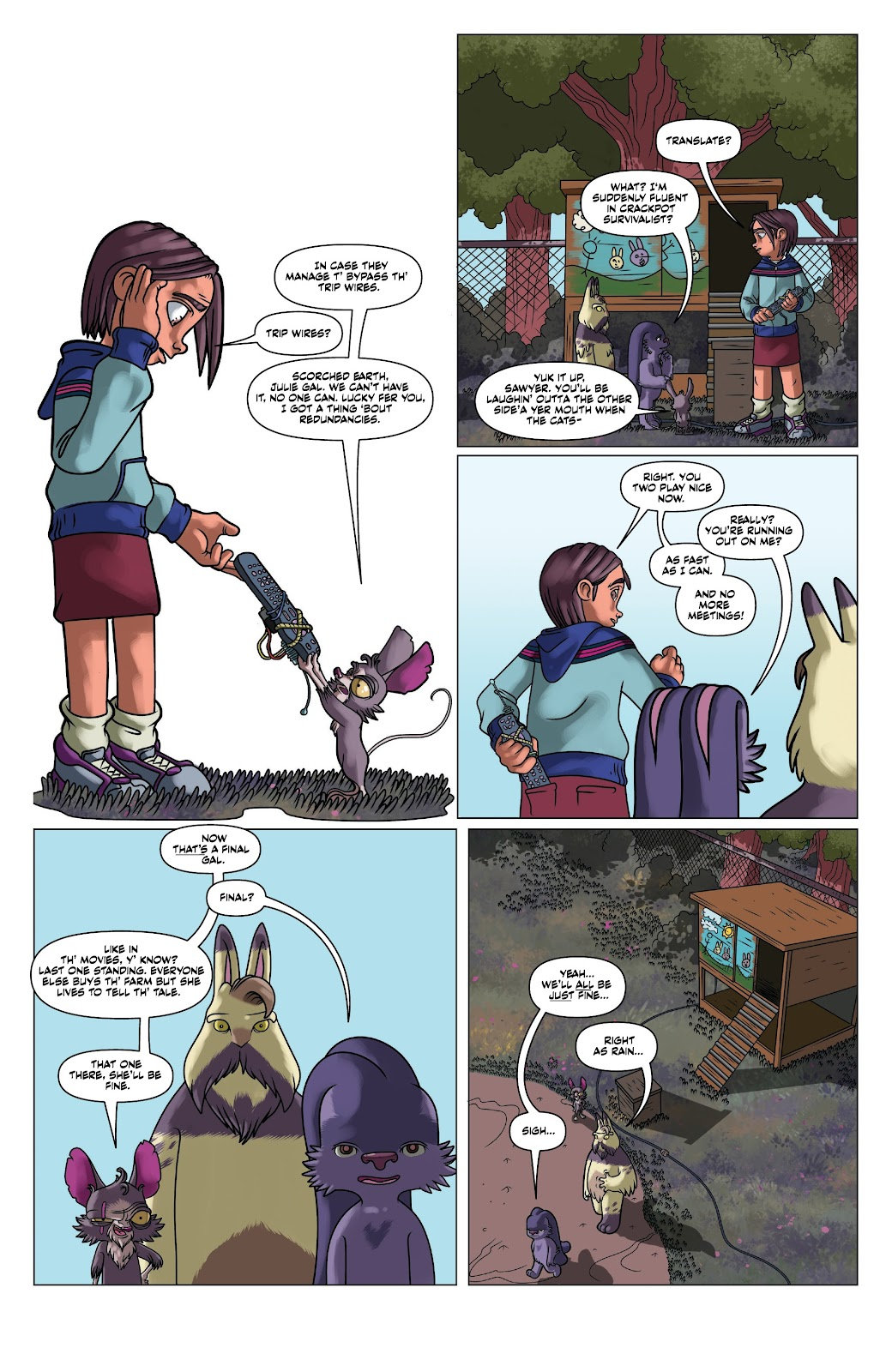 Read online Auntie Agatha's Home For Wayward Rabbits comic -  Issue #5 - 15