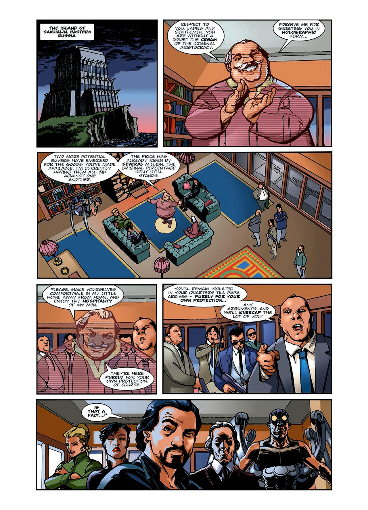 Read online Nikolai Dante comic -  Issue # TPB 6 - 55