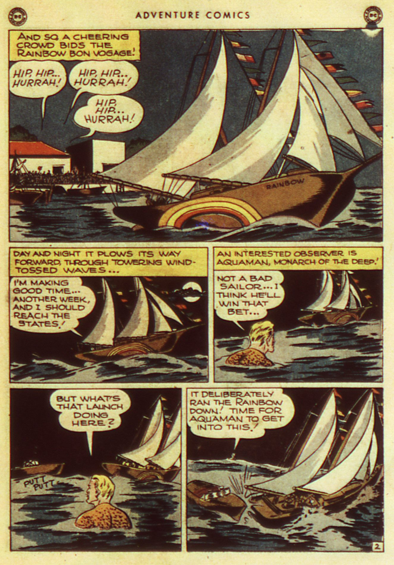 Read online Adventure Comics (1938) comic -  Issue #105 - 33