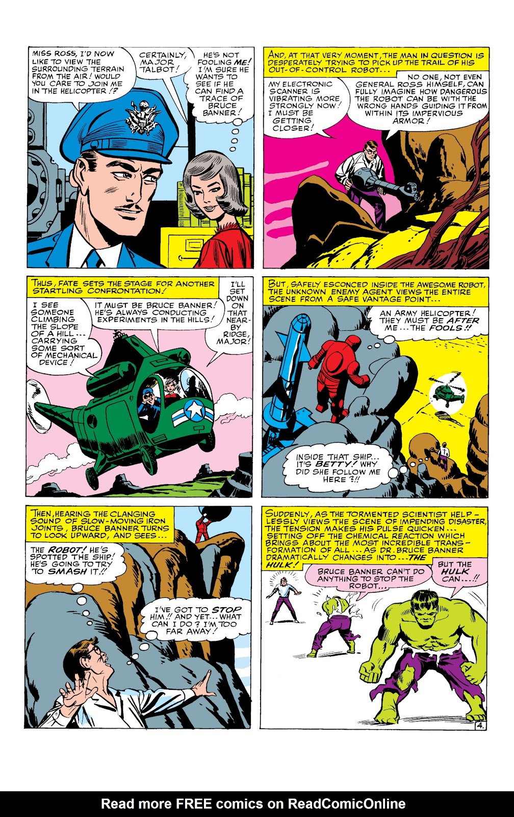 Read online Marvel Masterworks: The Incredible Hulk comic -  Issue # TPB 2 (Part 1) - 38