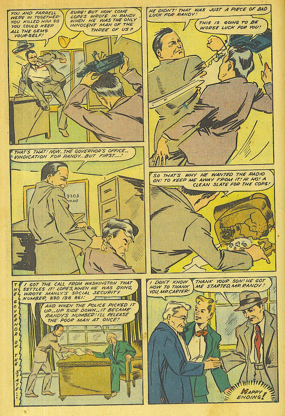 Read online Shadow Comics comic -  Issue #63 - 20