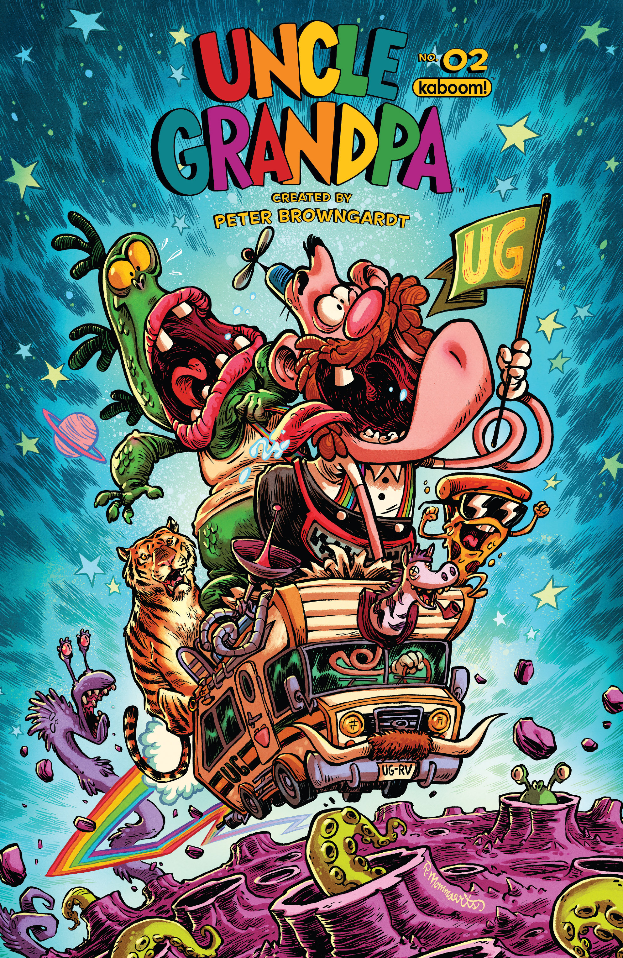 Read online Uncle Grandpa comic -  Issue #2 - 1