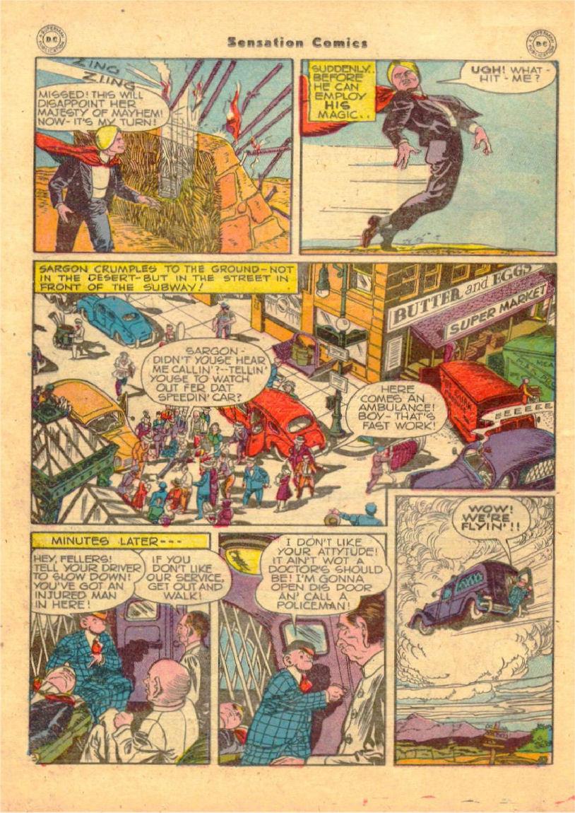 Read online Sensation (Mystery) Comics comic -  Issue #70 - 29