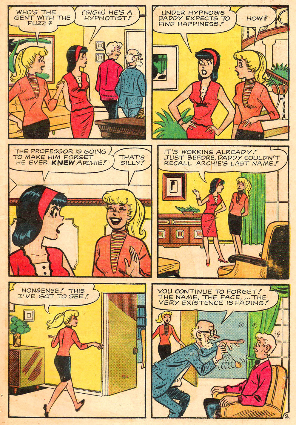 Read online Archie's Girls Betty and Veronica comic -  Issue #116 - 29