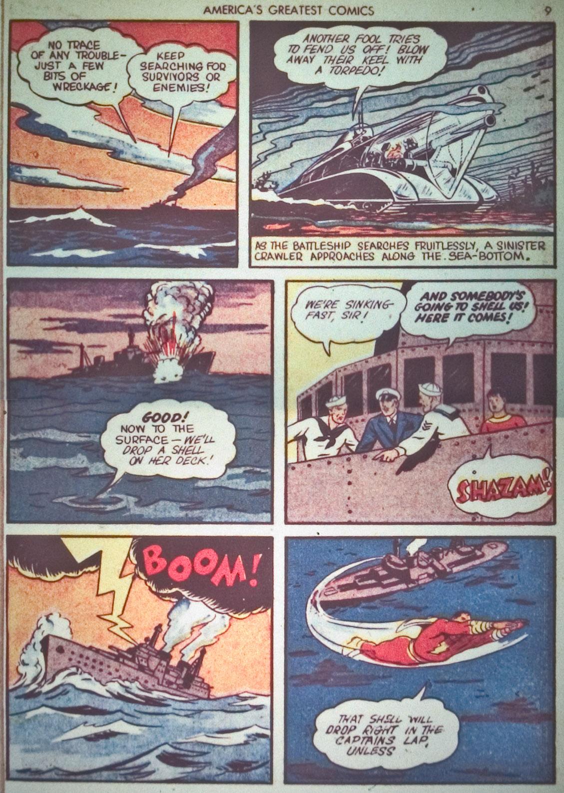 Read online America's Greatest Comics comic -  Issue #1 - 12