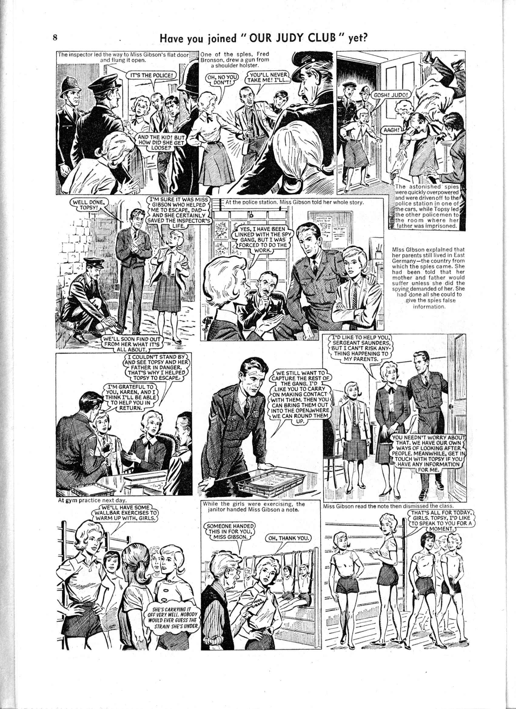 Read online Judy comic -  Issue #166 - 8
