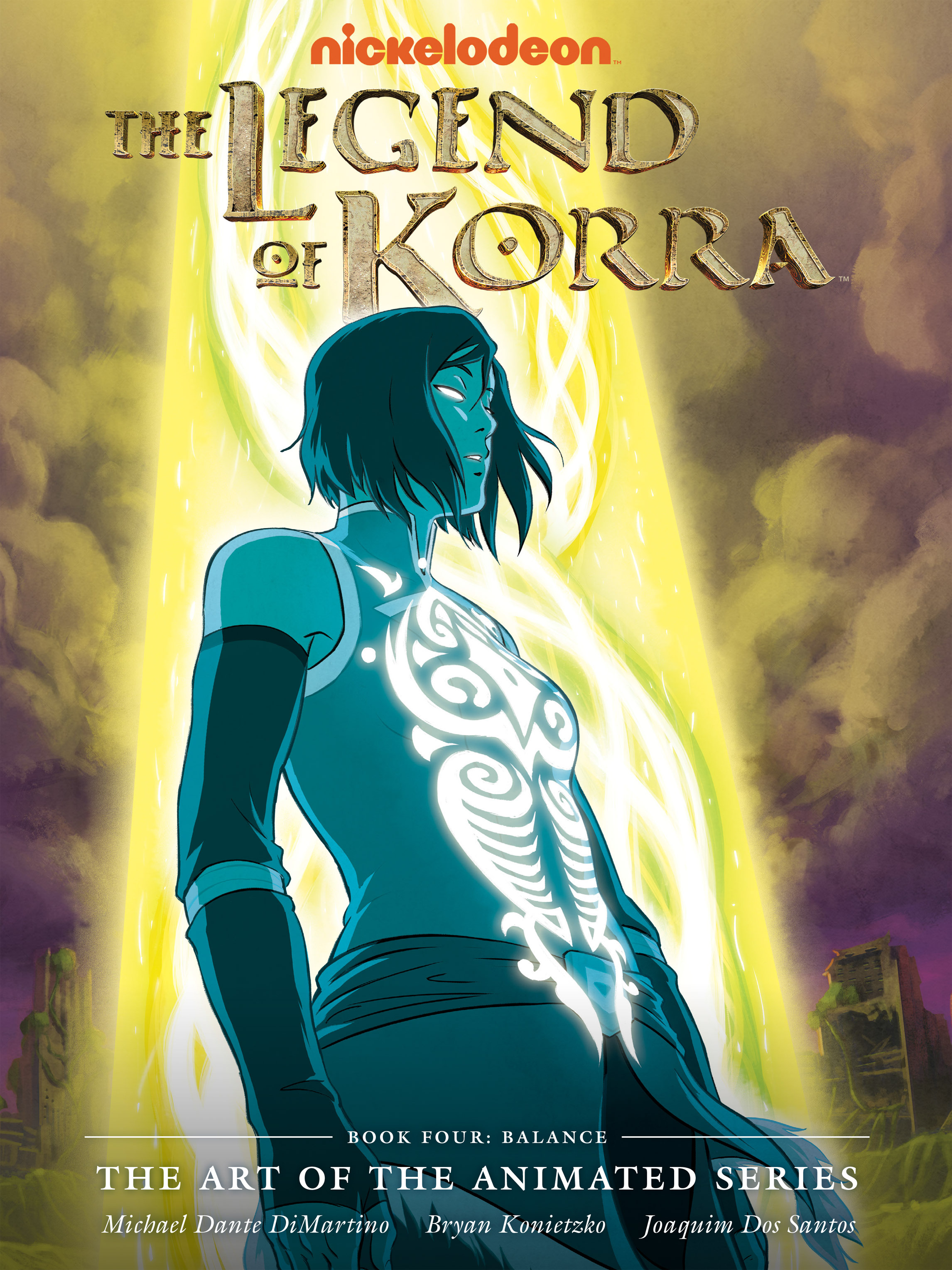 The Legend of Korra: The Art of the Animated Series TPB_4 Page 1