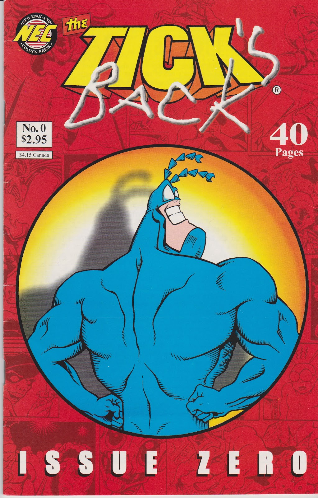 The Tick's Back issue Full - Page 1