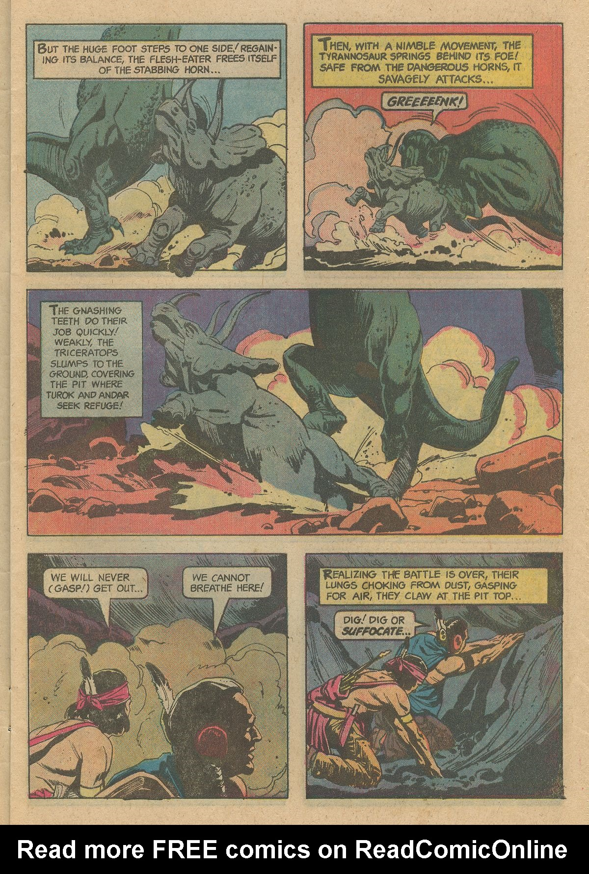 Read online Turok, Son of Stone comic -  Issue #128 - 7