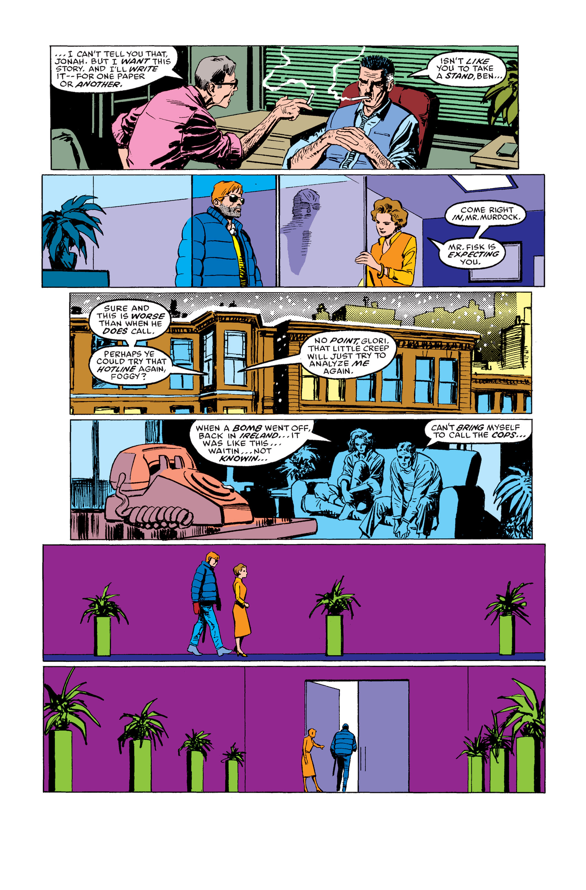 Read online Daredevil: Born Again comic -  Issue # Full - 69