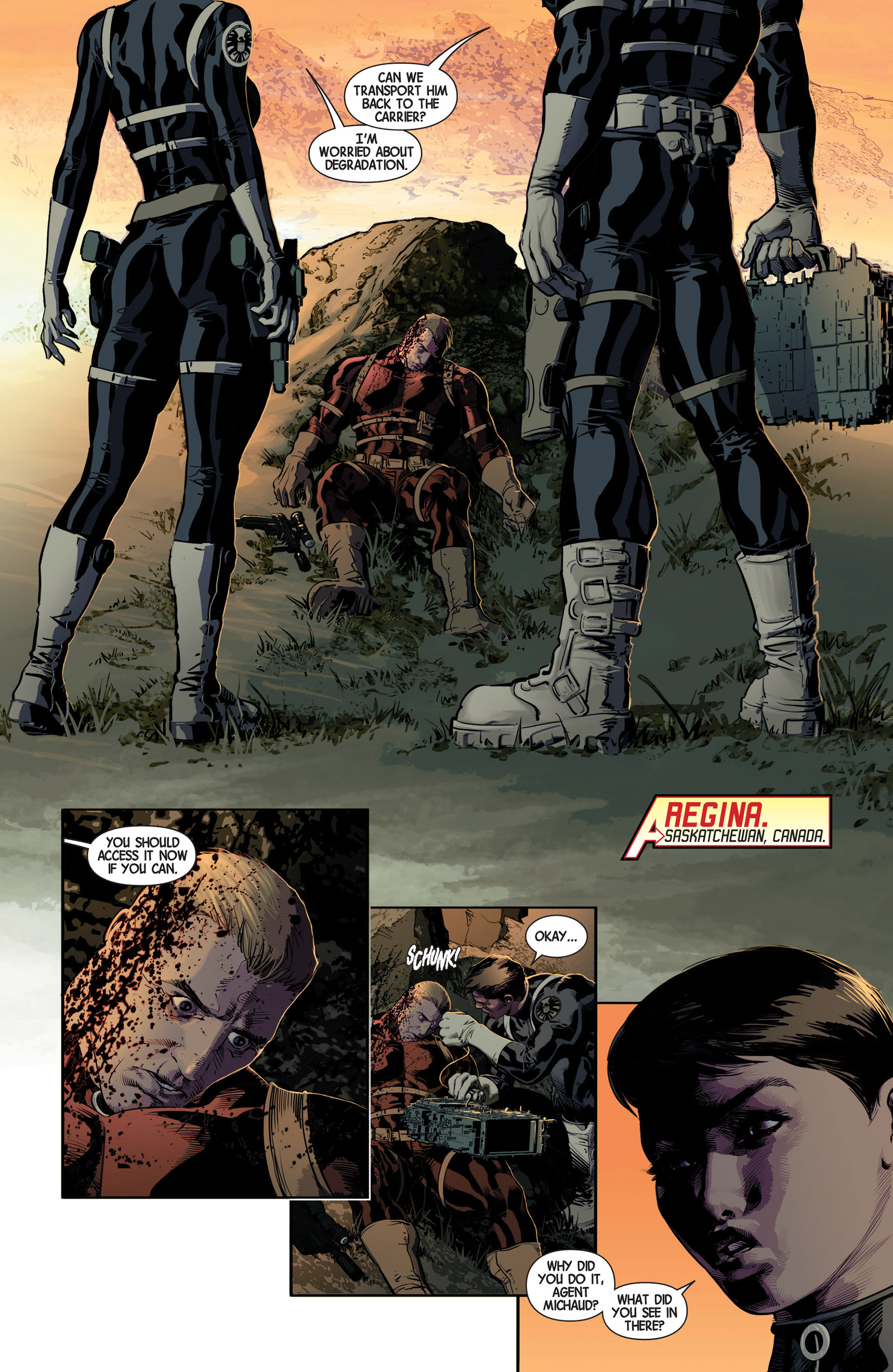 Read online Avengers (2013) comic -  Issue #10 - 5