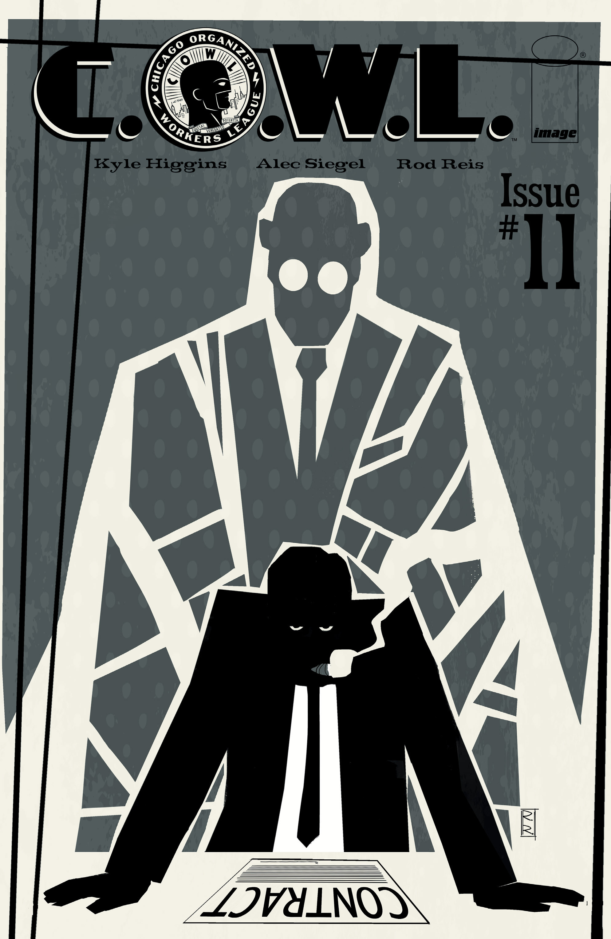 Read online C.O.W.L. comic -  Issue #11 - 1