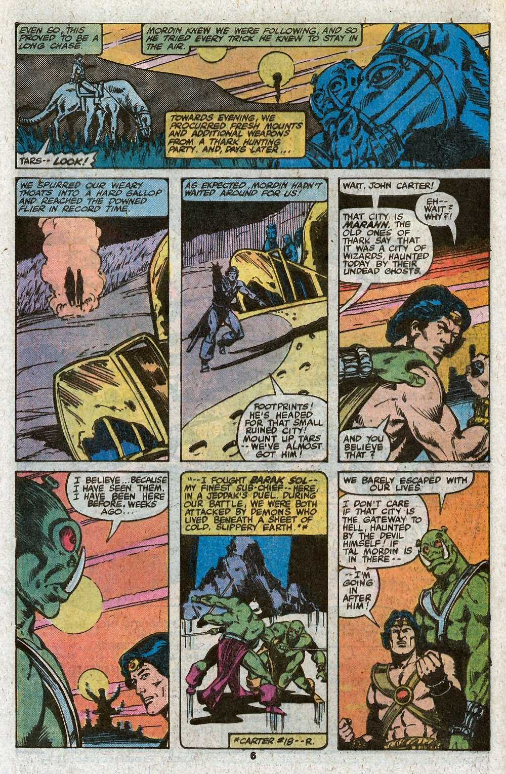 John Carter Warlord of Mars issue 27 - Page 8