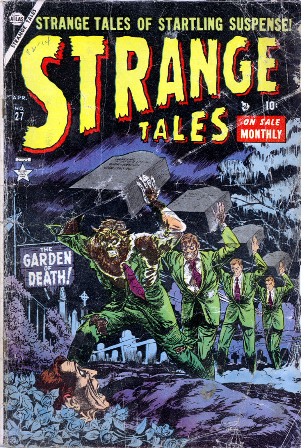 Strange Tales (1951) issue 27 - Page 1
