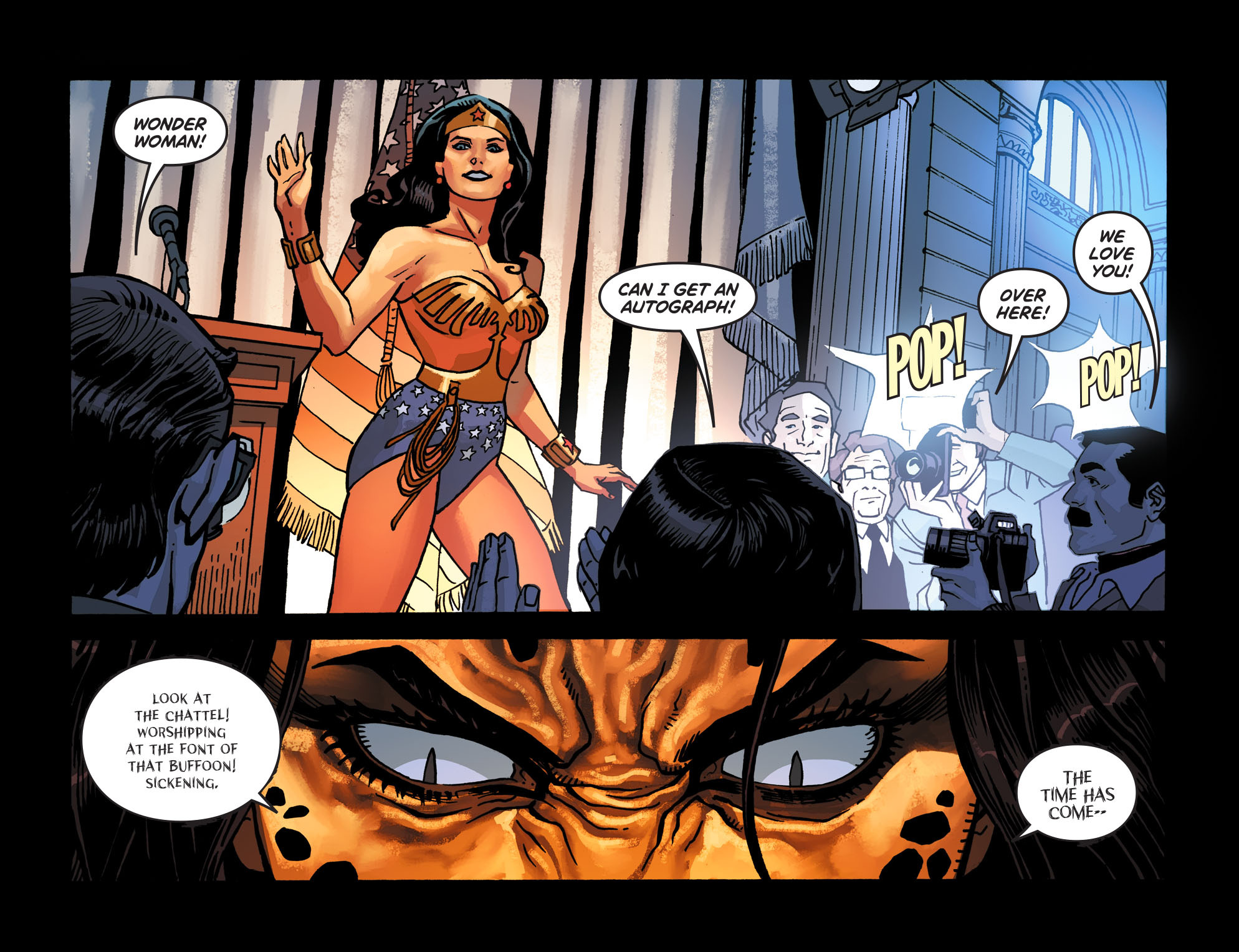 Read online Wonder Woman '77 [I] comic -  Issue #8 - 8