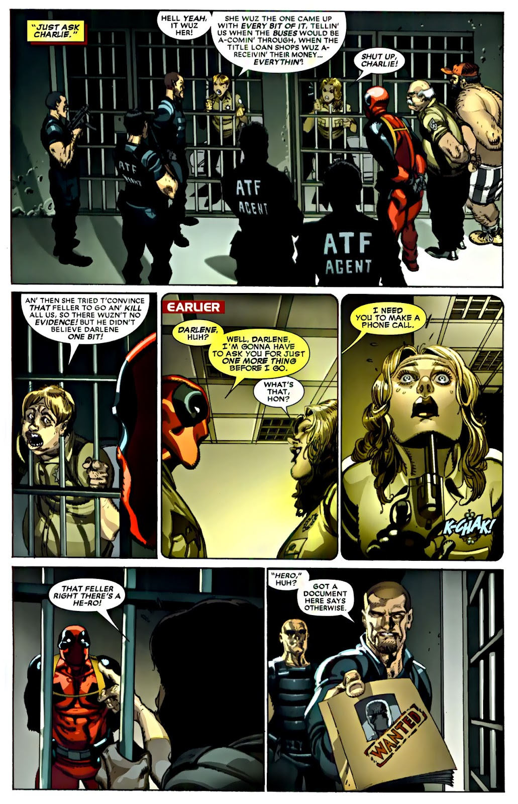 Read online Deadpool (2008) comic -  Issue #22 - 23