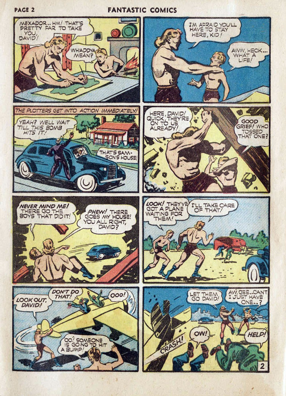 Read online Fantastic Comics comic -  Issue #17 - 4