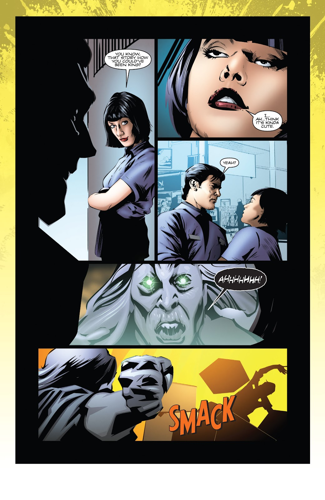 Read online Codename: Action comic -  Issue #3 - 31