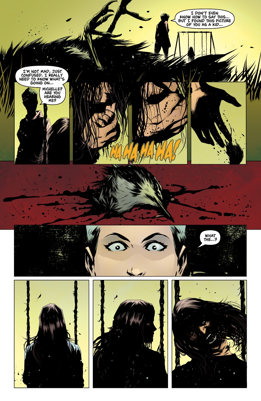 Read online Devil Within comic -  Issue #3 - 15