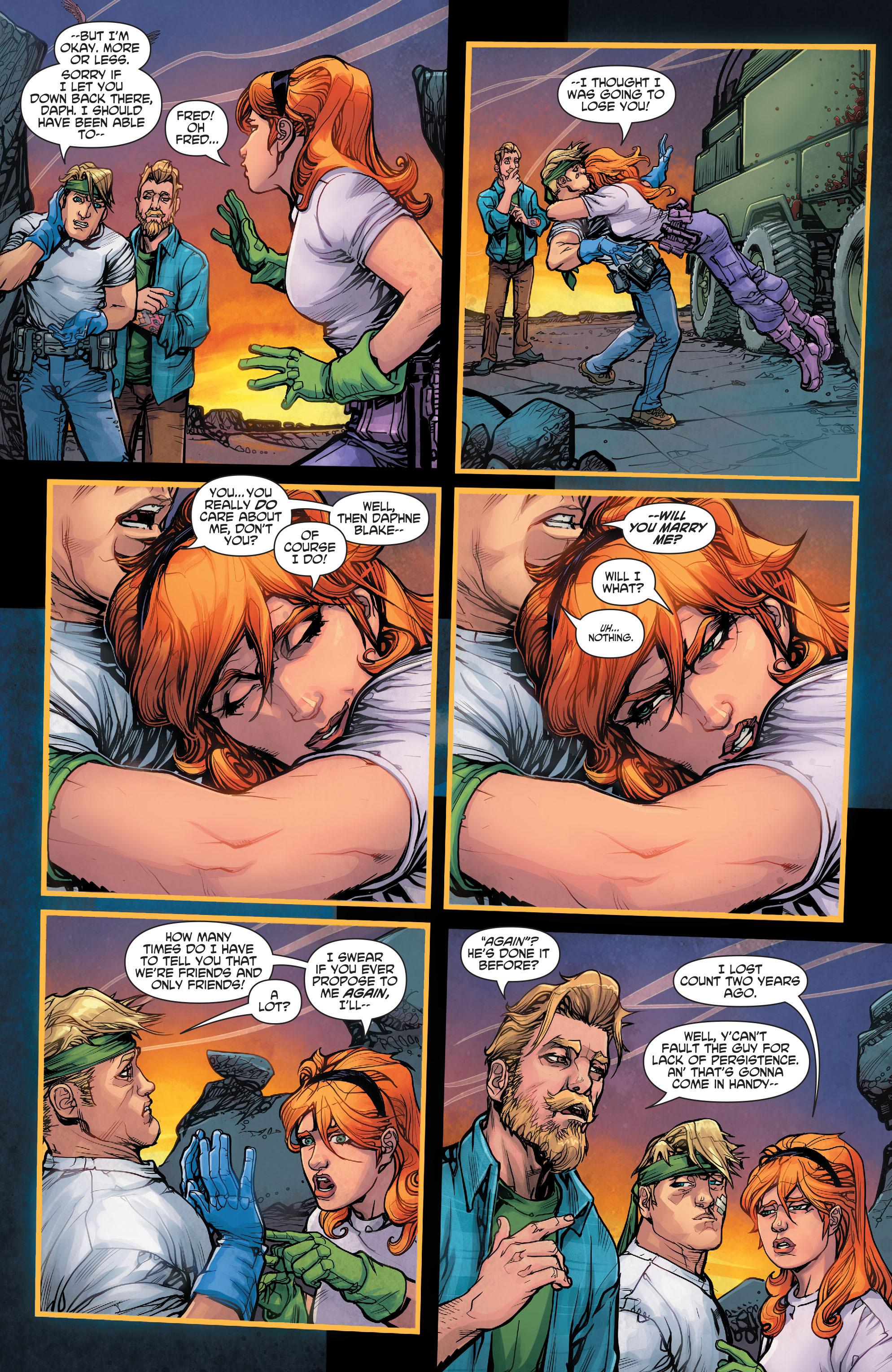 Read online Scooby Apocalypse comic -  Issue #3 - 12